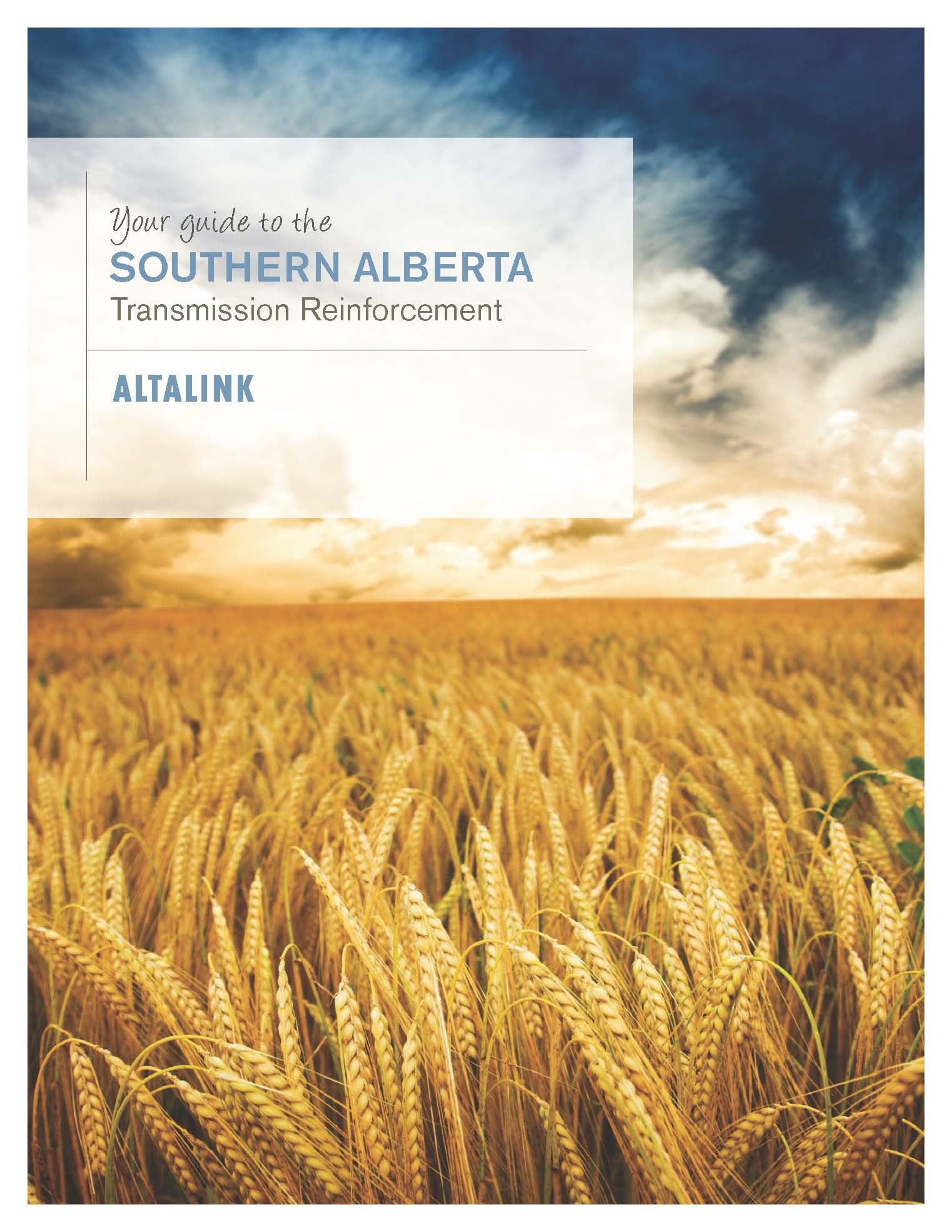 Illustrated Guide to the Southen Alberta Transmission Reinforcement